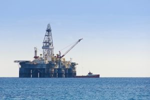 Offshore oil rigs rely on a robust power supply, and support equipment.